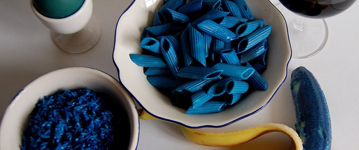 อาหารที่มีสีฟ้า จะส่งผลต่อความอยากอาหารน้อยลง
